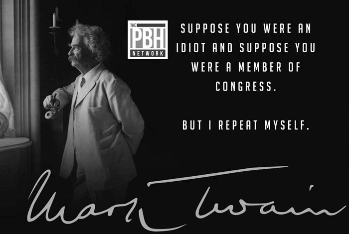 An Idiot In Congress