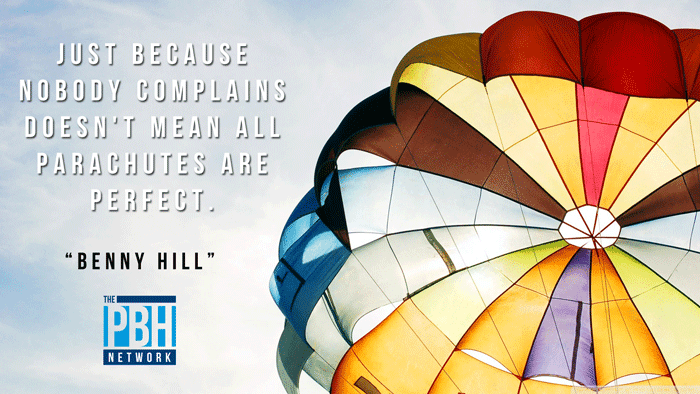 Benny Hill On Complaining