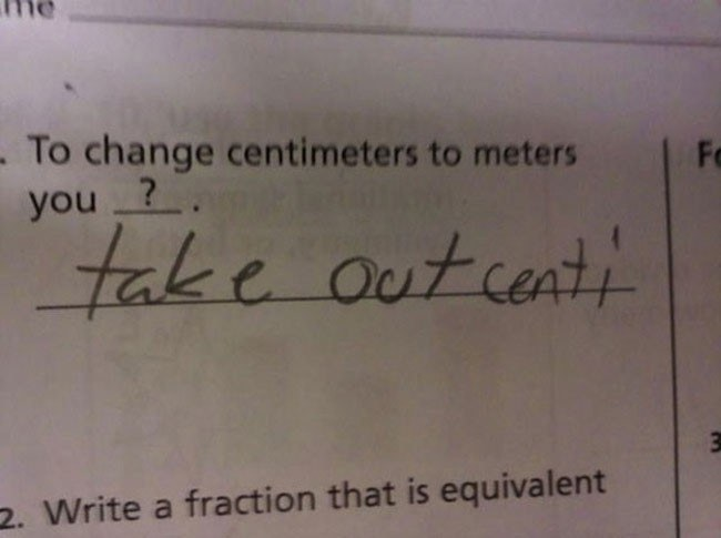 Change Centimeters To Meters