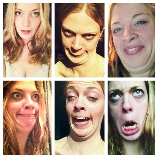 Collage Of Ugly Faces Pretty Girls