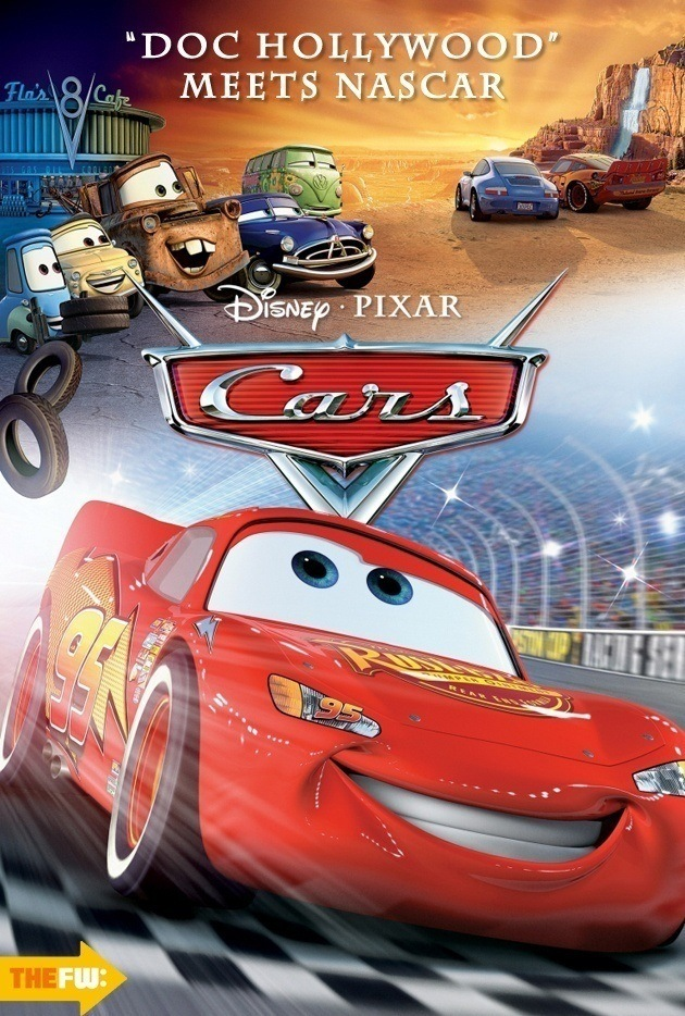 Disney Movie Posters Cars