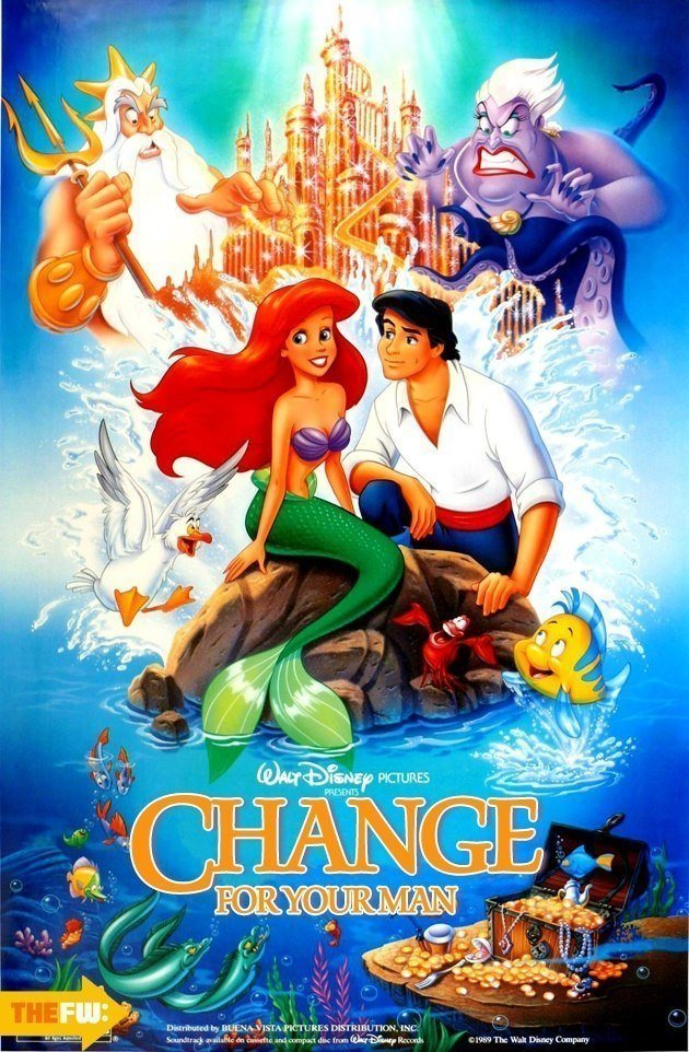 Disney Movie Posters Little Mermaid