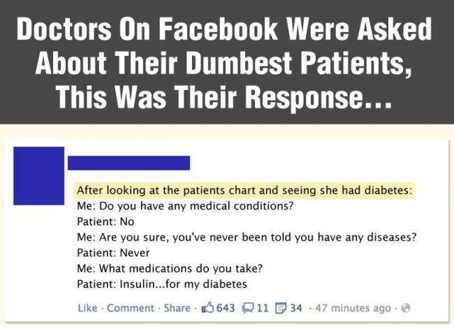 Doctor's Dumbest Patients