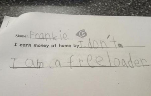 Frankie The Freeloader