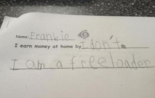 Frankie The Freeloader