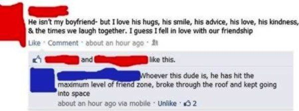 Friendzoned Into Outer Space