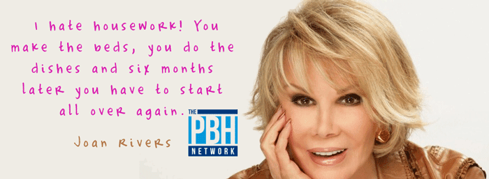 Funny Joan River Quote
