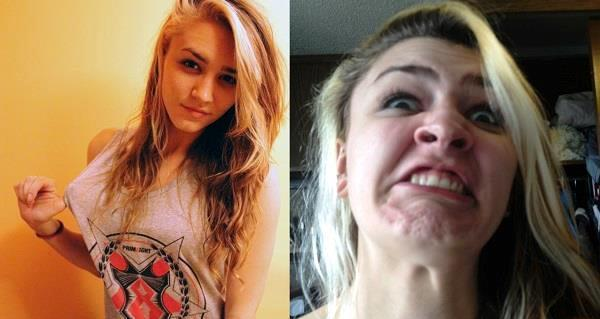 Hilarious Pretty Girls Ugly Faces