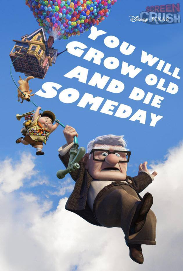 Honest Disney Movie Posters Up
