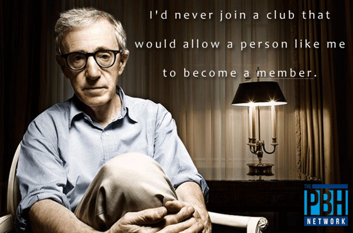 I Would Never Join A Club
