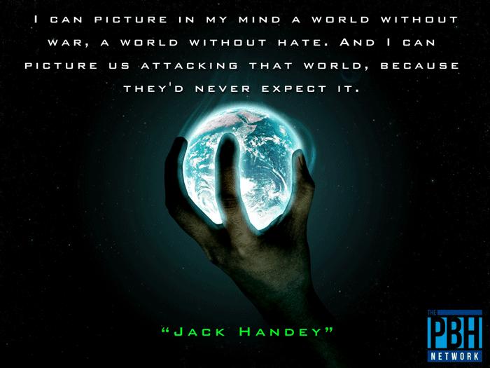 Jack Handey On Peace