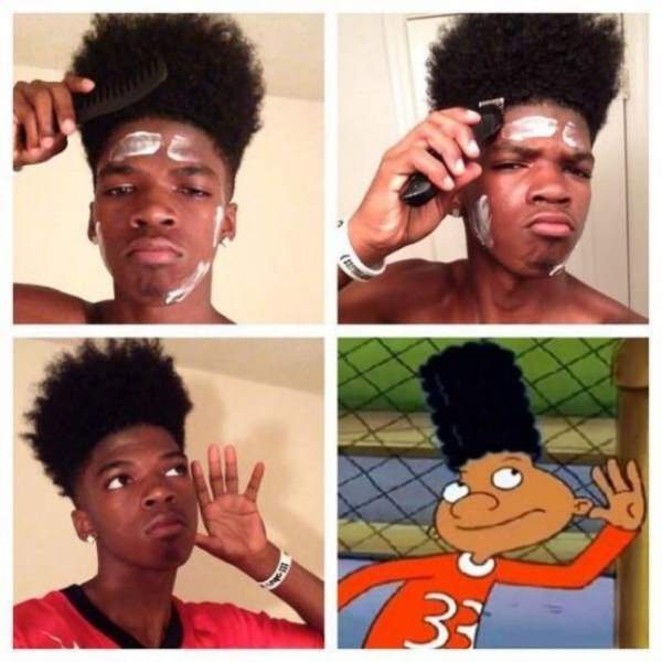 Male Make Up Transformations Hey Arnold