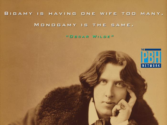 Oscar Wilde On Marriage