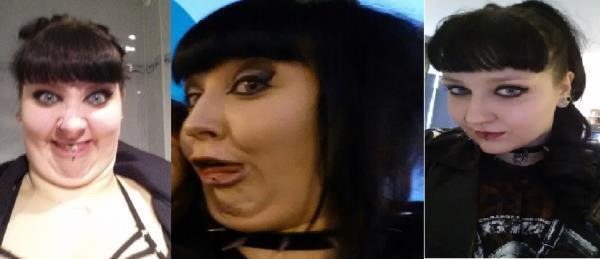 Pretty Girls Ugly Faces Goth