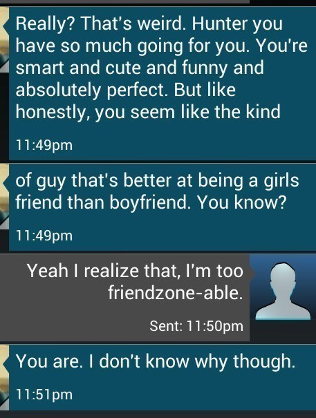 The Perfect Friendzone Friend