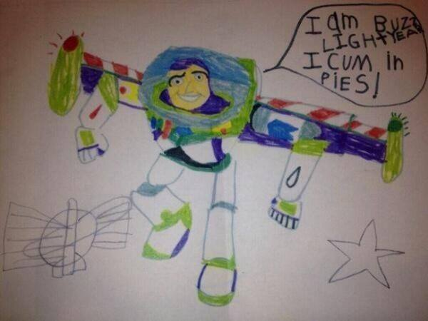 Buzz Lightyear Hilarious Kids Notes