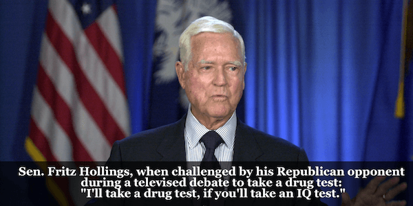 Fritz Hollings History's Best Comebacks