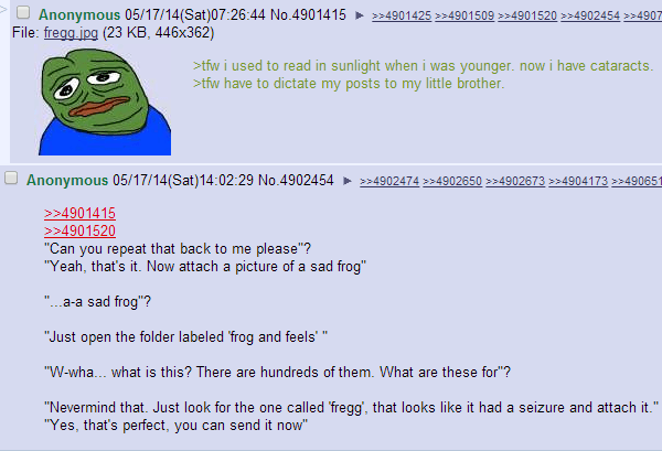 Frogs And Feels