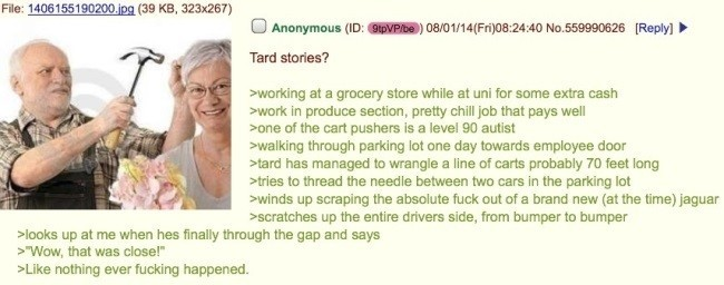 Funny 4Chan Posts Grocery Store Job