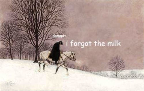 George Washington Forgot The Milk