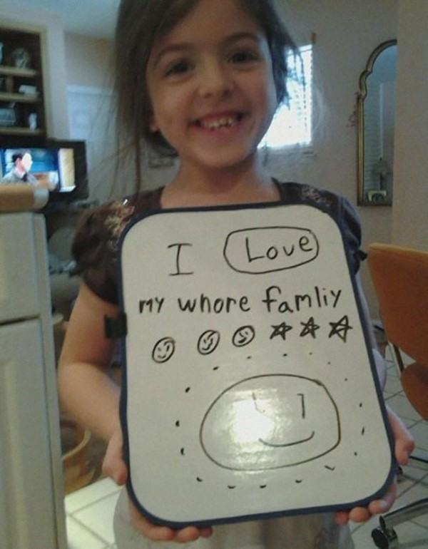 Hilarious Kids Notes Love Family