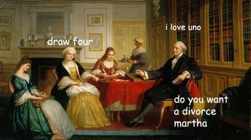 i love uno the george washington meme is the greatest thing ever