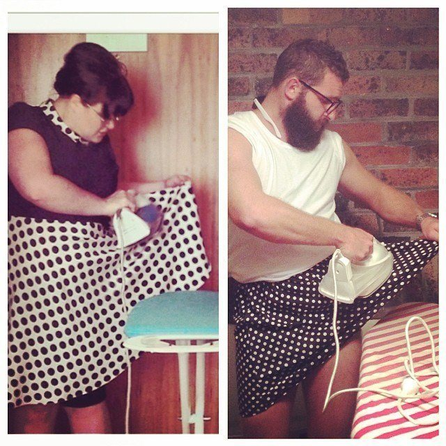 Ironing Your Skirt