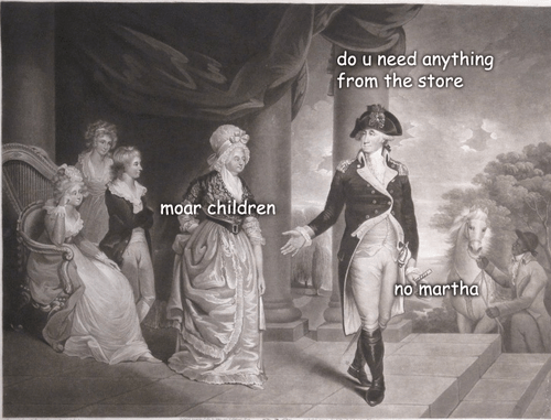 Martha Washington Meme