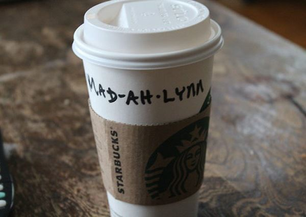 Misspelled Starbucks