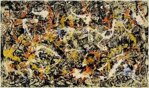 pussies-pollock-painting