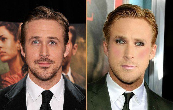 Ryan Gosling Without Makeup