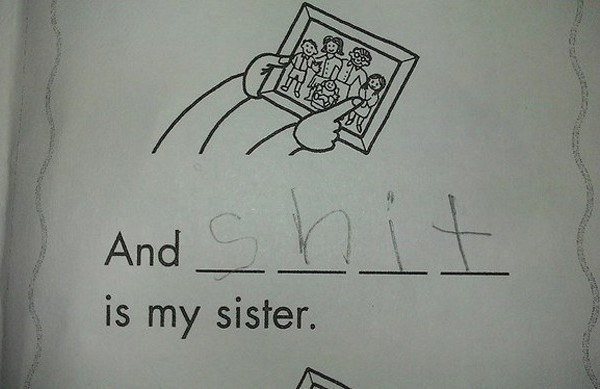Shit Is My Sister