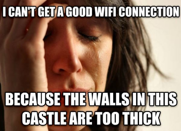 Thick Castle Walls