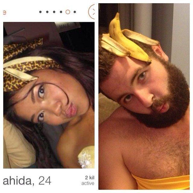 Tinder Pictures Banana Head