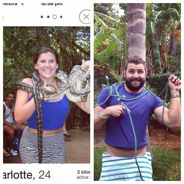 Tinder Pictures Snake