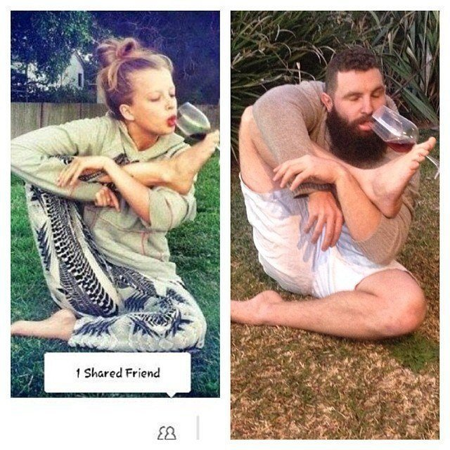 Tinder Pictures Yoga