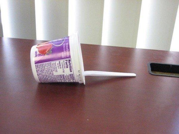 Tipped Over Yogurt