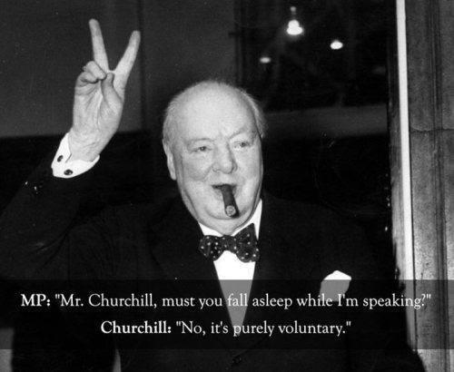 Winston Churchill Comeback