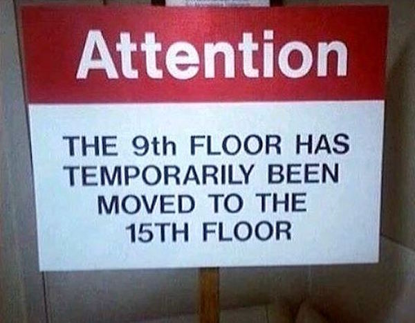9th Floor Moved