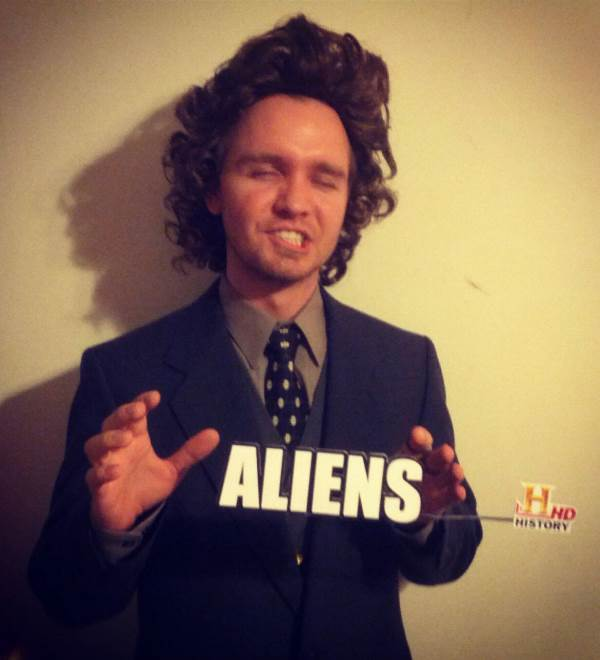 Aliens Man Costume