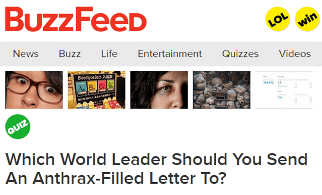 Anthrax Filled Letters