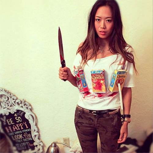 Easy Halloween Costumes Cereal Killer  sc 1 st  Runt Of The Web : original halloween costumes for women  - Germanpascual.Com