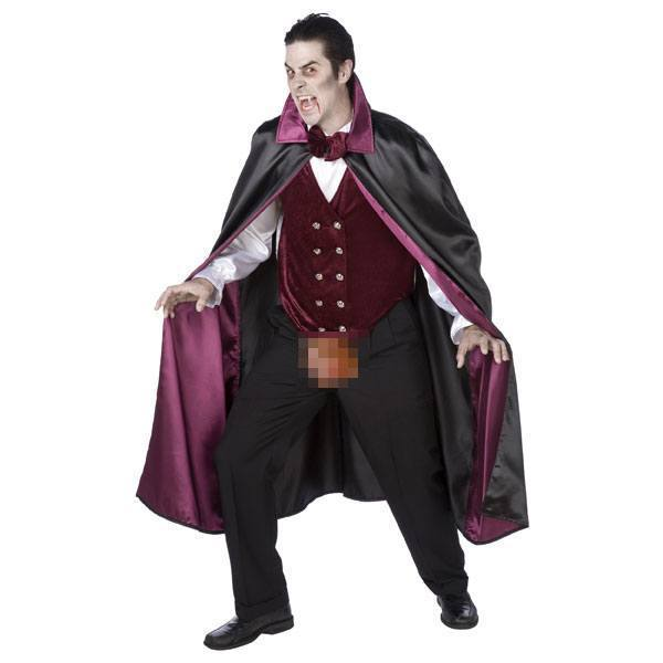 Easy Breezy Dracula Costume