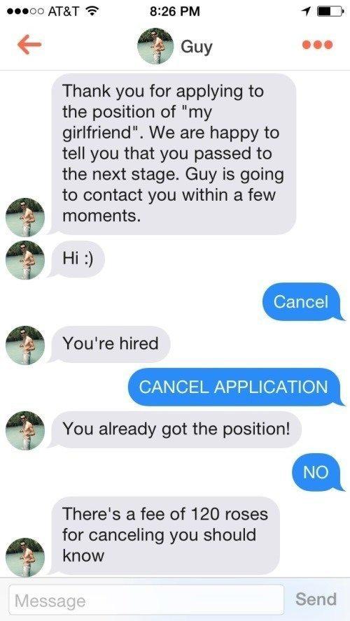 Girlfriend Application