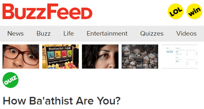 How Baathist Are You?