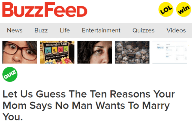 No One Wants To Marry You