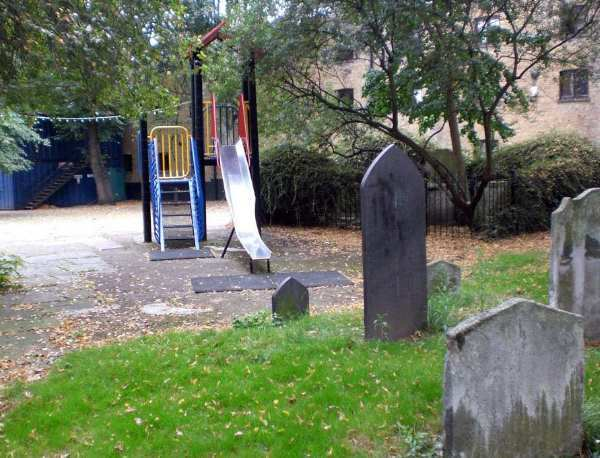 Playground Next To A Cemetery