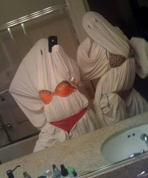 Sexy Ghosts Halloween Costume