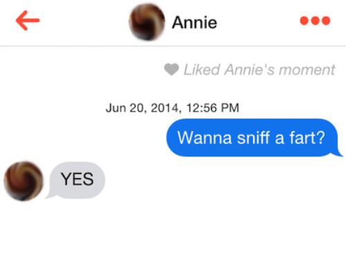 Tinder Lines Farts