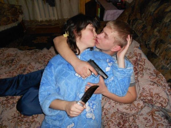 Typical Russian Couple